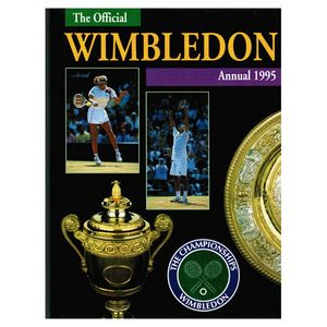 TENNIS EXPRESS OFFICIAL WIMBLEDON ANNUAL 1995 HARDBACK
