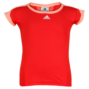 adidas GIRLS ADIZERO CAP SLEEVE TENNIS TOP