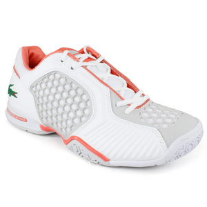 LACOSTE WOMENS REPEL 2 WHITE/ORANGE SHOES