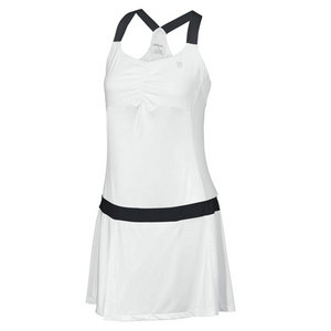 Women`s Team Tea Lawn Tennis Dress White