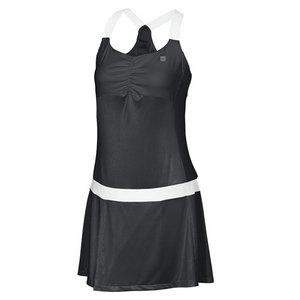 Women`s Team Tea Lawn Tennis Dress Black
