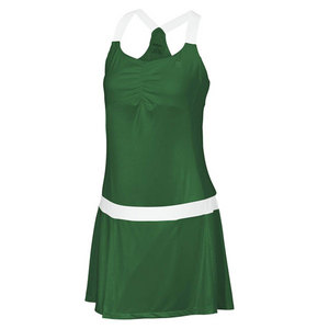 Women`s Team Tea Lawn Tennis Dress Forest