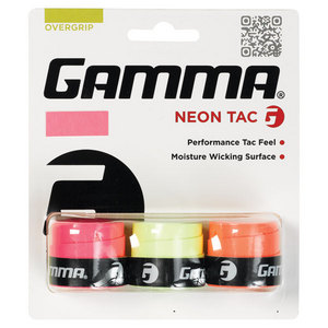Neon Tac 3 Pack Tennis Overgrip