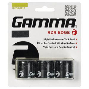 GAMMA RZR EDGE BLACK TENNIS OVERGRIP