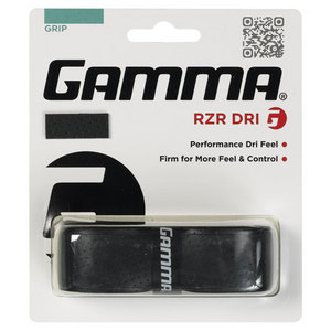 GAMMA RZR DRI GRIP REPLACEMENT TENNIS GRIP