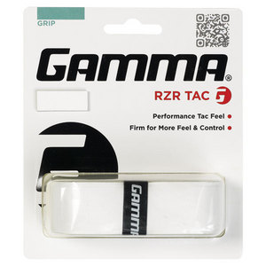 GAMMA RZR TAC GRIP WHITE REPLACEMENT GRIP