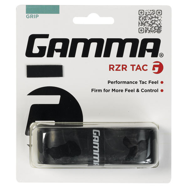 Rzr Tac Grip Black Replacement Tennis Grip