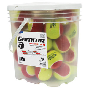 GAMMA QUICK KIDS 36 BUCKET TENNIS BALLS