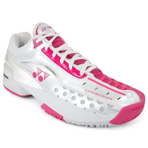 YONEX WOMENS ALL COURT PC 308 WHITE/PINK SHOES