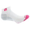VITALSOX Running Ped Light Weight White/Pink Socks