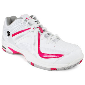YONEX WOMENS ALL COURT PC 262 WHITE/PINK SHOES