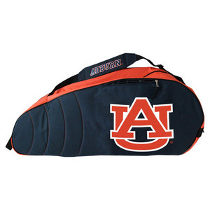 PRO VISION SPORTS AUBURN UNIVERSITY 6 PACK TENNIS BAG