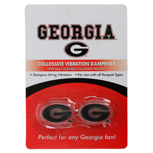 University of Georgia 2 Pack Tennis Dampener