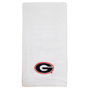 PRO VISION SPORTS UNIVERSITY OF GEORGIA EMBROID WH TOWEL