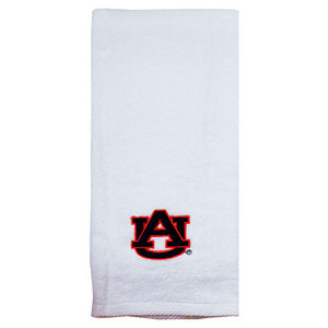 PRO VISION SPORTS AUBURN UNIVERSITY EMBROID WHITE TOWEL