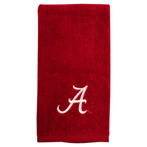 PRO VISION SPORTS UNI OF AL EMBROIDERED CRIMSON TOWEL
