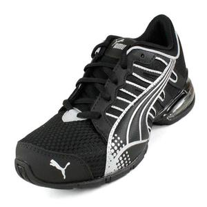 PUMA JUNIORS VOLTAIC 3 BLACK/SILV SHOES