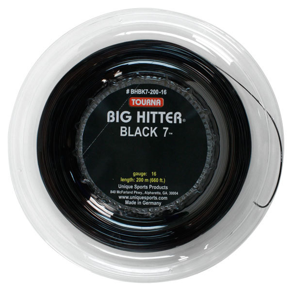 Big Hitter Black 7 16g Tennis String Reel
