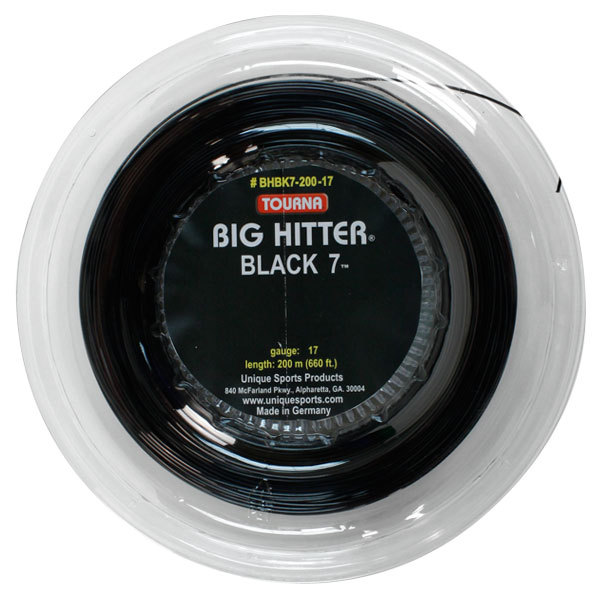 Big Hitter Black 7 17g Tennis String Reel