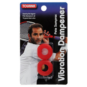 TOURNA SAMPRAS RED VIBRATION TENNIS DAMPENER