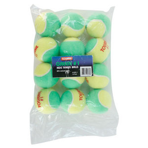 TOURNA STAGE 1 QUICKSTART TENNIS BALLS 12 PACK
