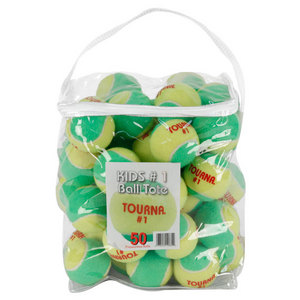 TOURNA STAGE 1 QUICKSTART TENNIS BALLS 50 PACK