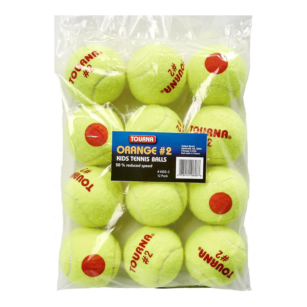 Stage 2 Quickstart Tennis Balls 12 Pack