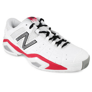 NEW BALANCE WOMENS 1187 WHITE B WIDTH TENNIS SHOES