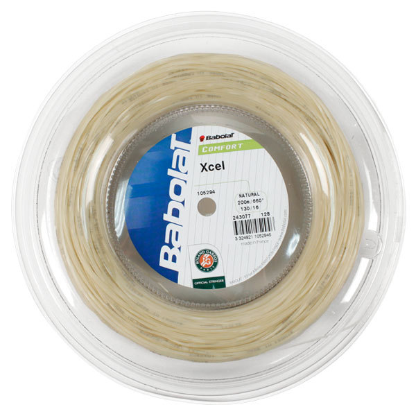 Xcel 16g Natural Reel Tennis String