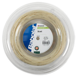 BABOLAT XCEL 17G NATURAL REEL TENNIS STRING