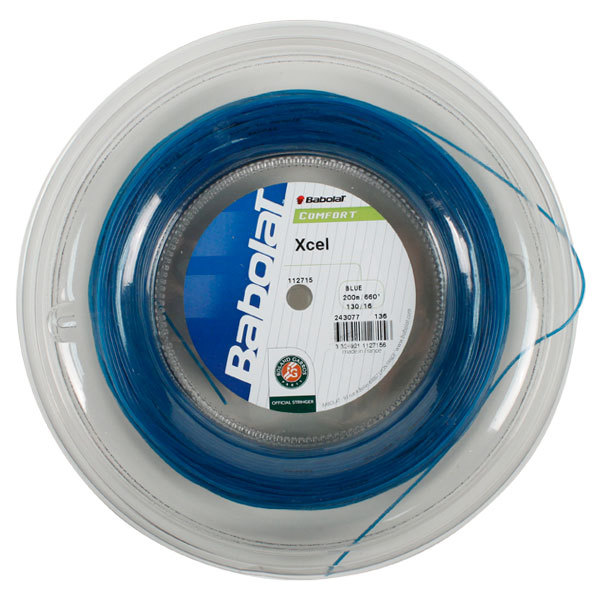 Xcel 16g Blue Reel Tennis String