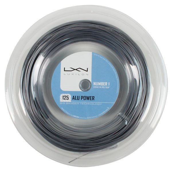 Alu Power 125 16l Silver 330 Reel Tennis String