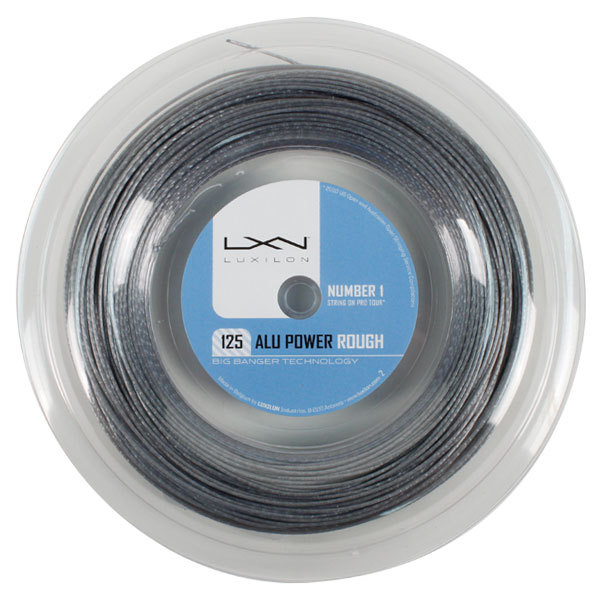 Alu Power 125 Rough 16l Silver 330 Reel Tennis String
