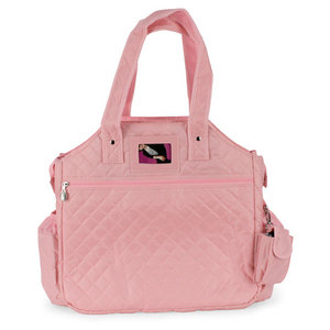 LIFE IS TENNIS PINK RITZ TENNIS TOTE
