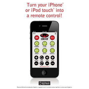 LOBSTER WI-FI REMOTE CONTROL ASSEMBLY FOR IPHONE