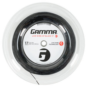 GAMMA LIVE WIRE XP BLACK 17G STRING REEL