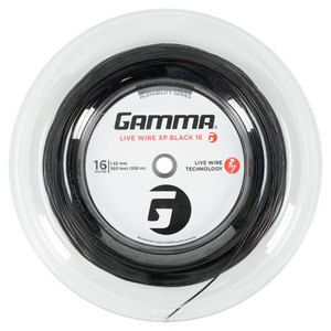 GAMMA LIVE WIRE XP BLACK 16G STRING REEL