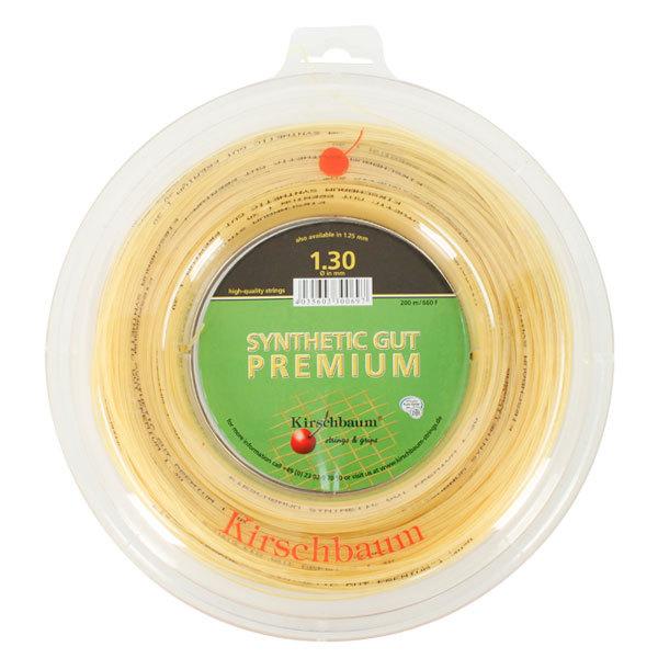 Syn Gut Premium Natural 1.30/16g Reel Tennis String