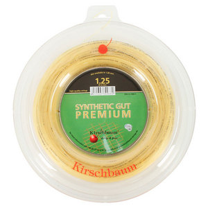Syn Gut Premium Natural 1.25/17G Reel Tennis String