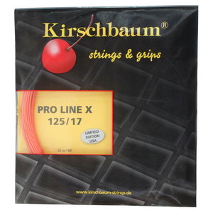 PLX 1.25/17G Cherry Orange Tennis String