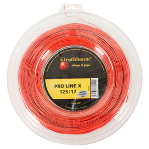 PLX 1.25/17G Cherry Orange Tennis String Reel