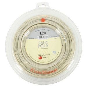 KIRSCHBAUM BASIC POLY 1.20/18G REEL TENNIS STRING