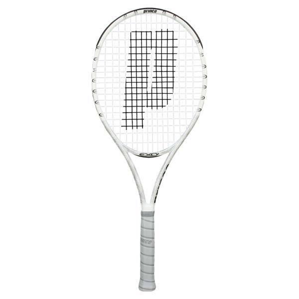 Exo3 White 100 Prestrung Tennis Racquets