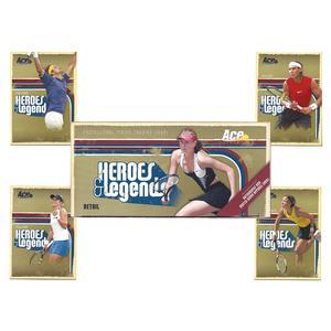 Heroes & Legends Tennis Trading Card Set
