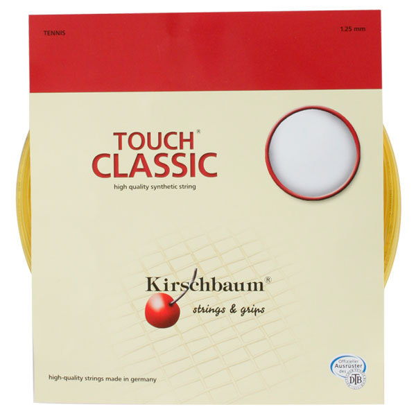 Touch Classic Syn Gut 1.25/17g Tennis String