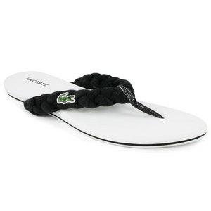 Women`s Suzy Black/White Flip Flops