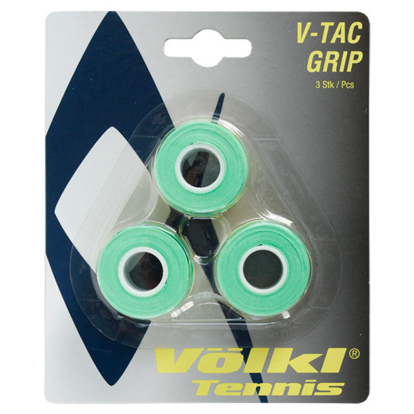 V- Tac 3 Pack Neon Green Tennis Overgrip