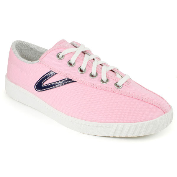 Women's Nylite Canvas Pink/Navy Shoes