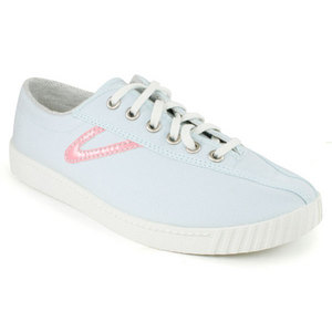 TRETORN WOMENS NYLITE CANVAS PASTEL BL/PINK SHOE