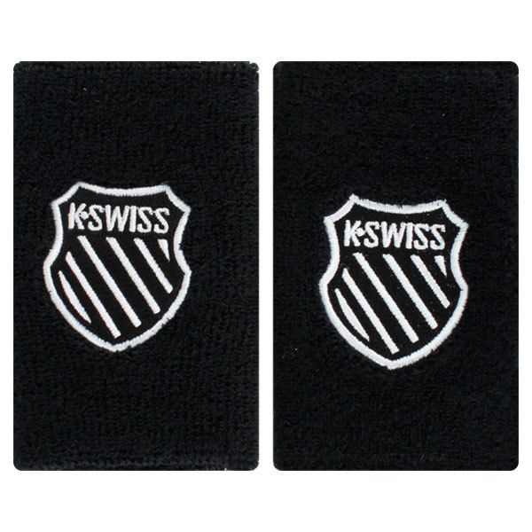 5 Inch Black Tennis Wristband
